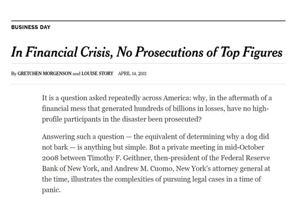 no_arrests_in_financial_crisis